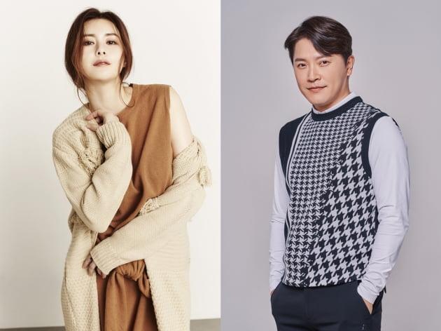 '아모르파티' 주연 최정윤(왼쪽), 안재모/ 사진=SBS 제공