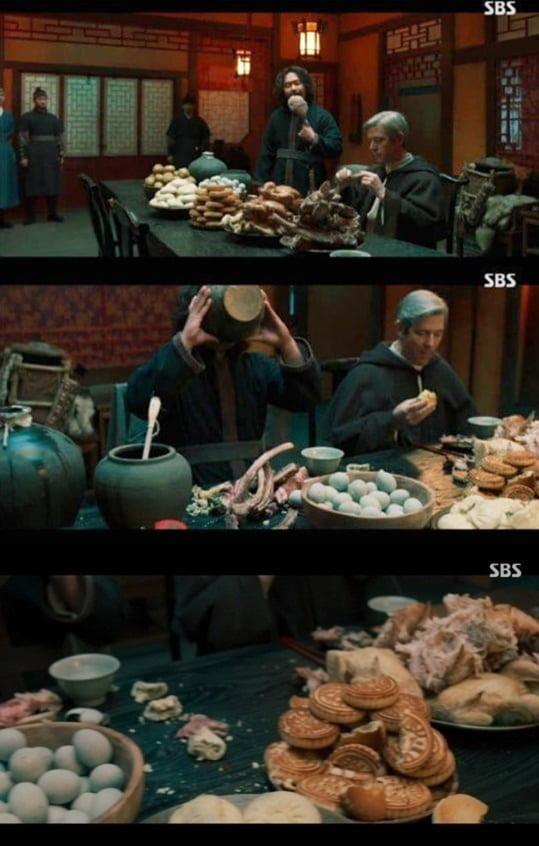 '조선구마사' 역사 왜곡 논란 /사진=SBS