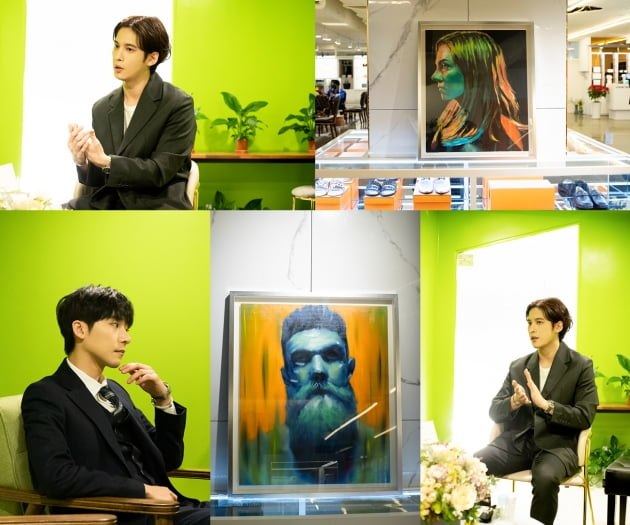 화가 데뷔를 앞둔 박기웅/ 사진=마운틴무브먼트 제공