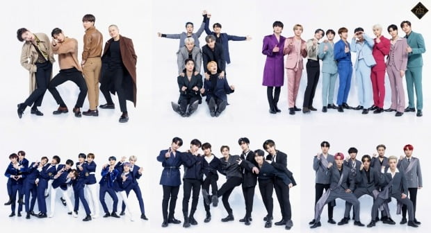 Mnet '킹덤' 출연진/사진제공=Mnet