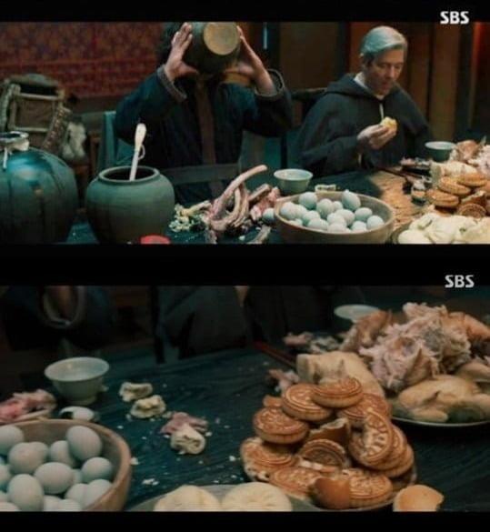 '조선구마사' 문제의 장면/ 사진=SBS 캡처