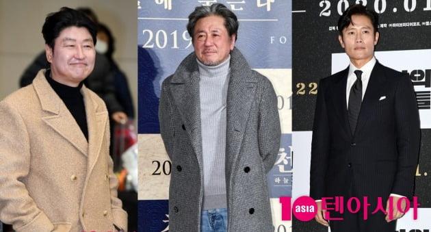 배우 송강호-최민식-이병헌./ 사진=텐아시아DB