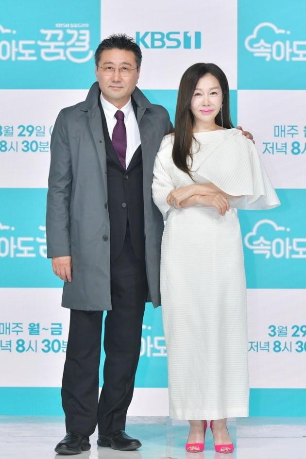 '속아도 꿈결' 배우 최정우(왼쪽) 박준금/ 사진=KBS1 제공