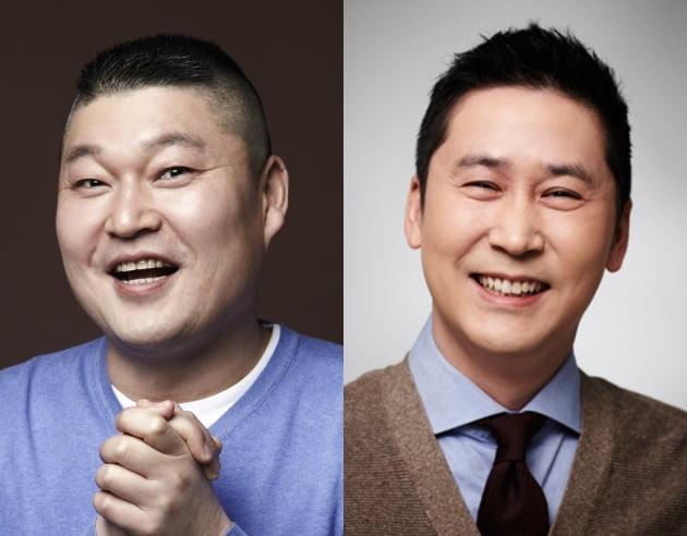 방송인 강호동(왼쪽), 신동엽/ 사진=SM C&C 제공