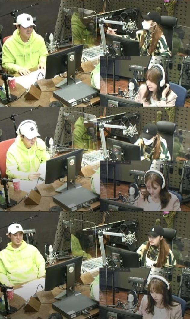 사진=KBS Cool FM '정은지의 가요광장' 방송 캡처