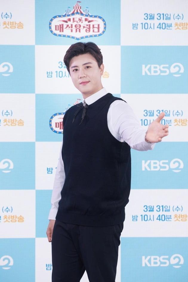 '트롯매직유랑단' 진해성/ 사진=KBS2 제공
