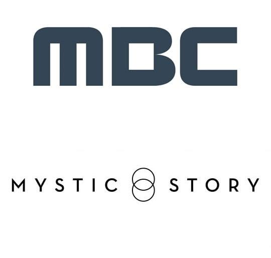 MBC, 미스틱스토리 로고.