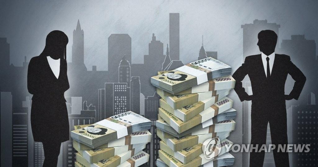 백화점 여성 직원 임금, 남성의 절반 안팎…이유는