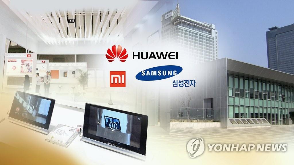 유럽·남미까지…화웨이 빈자리, 삼성 아닌 중국업체가 차지
