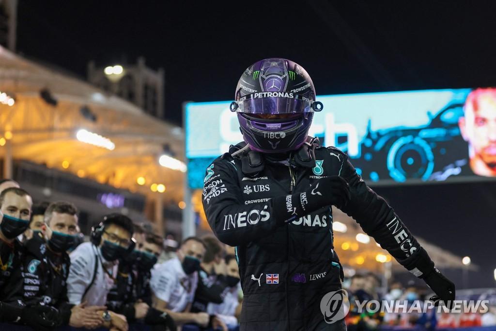 해밀턴, F1 그랑프리 개막전서 역전 우승 '쾌조의 스타트'
