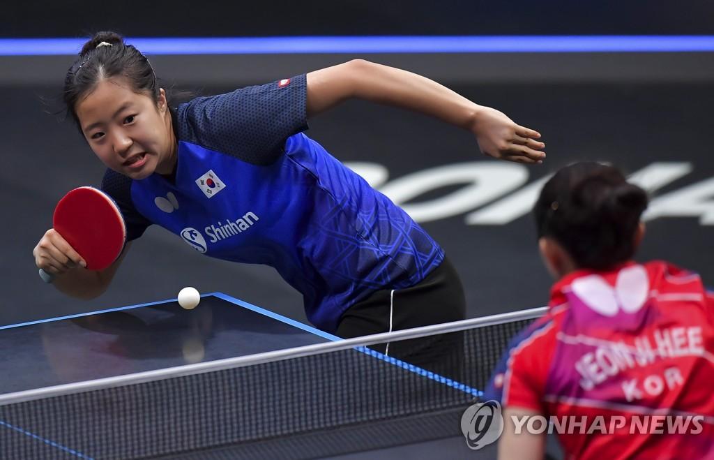 한국 탁구, WTT 스타컨텐더 남녀 복식 동반 우승