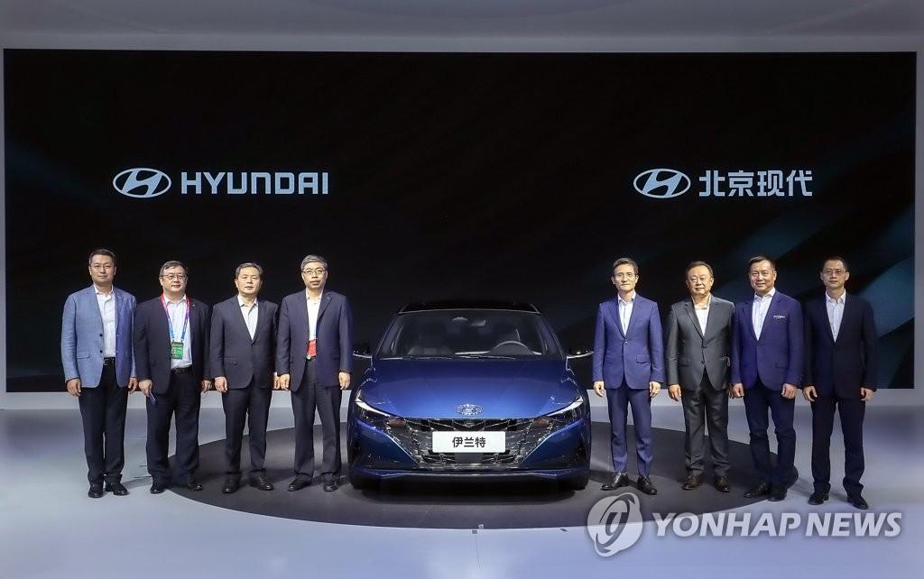 """현대차·기아, 중국서 재도약 나선다…""""올해 81.7만대 판매 목표"""""""