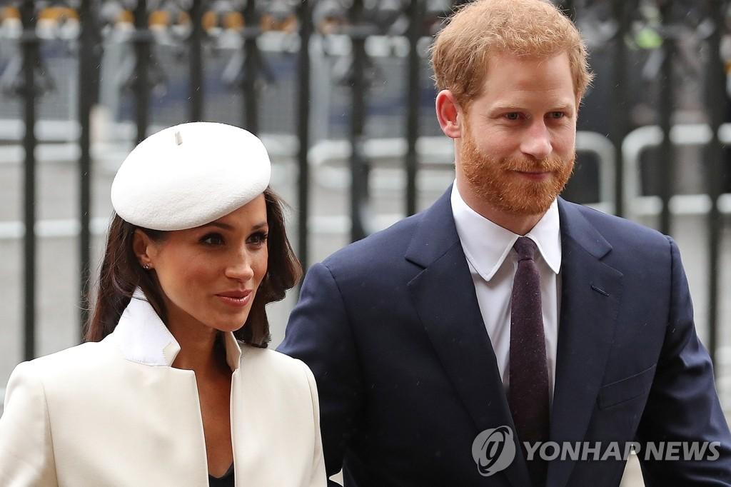 영국, 해리-메건 자선단체 정조준…왕실 갈등설 증폭