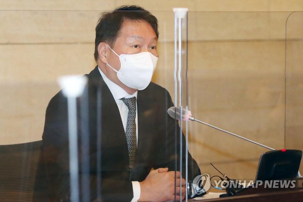 공정위, 상반기에 최태원 회장 '사익편취' 혐의 제재절차 착수