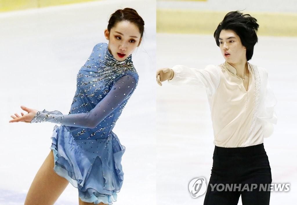 피겨 세계선수권 앞둔 차준환·김예림, 랭킹대회 쇼트 1위