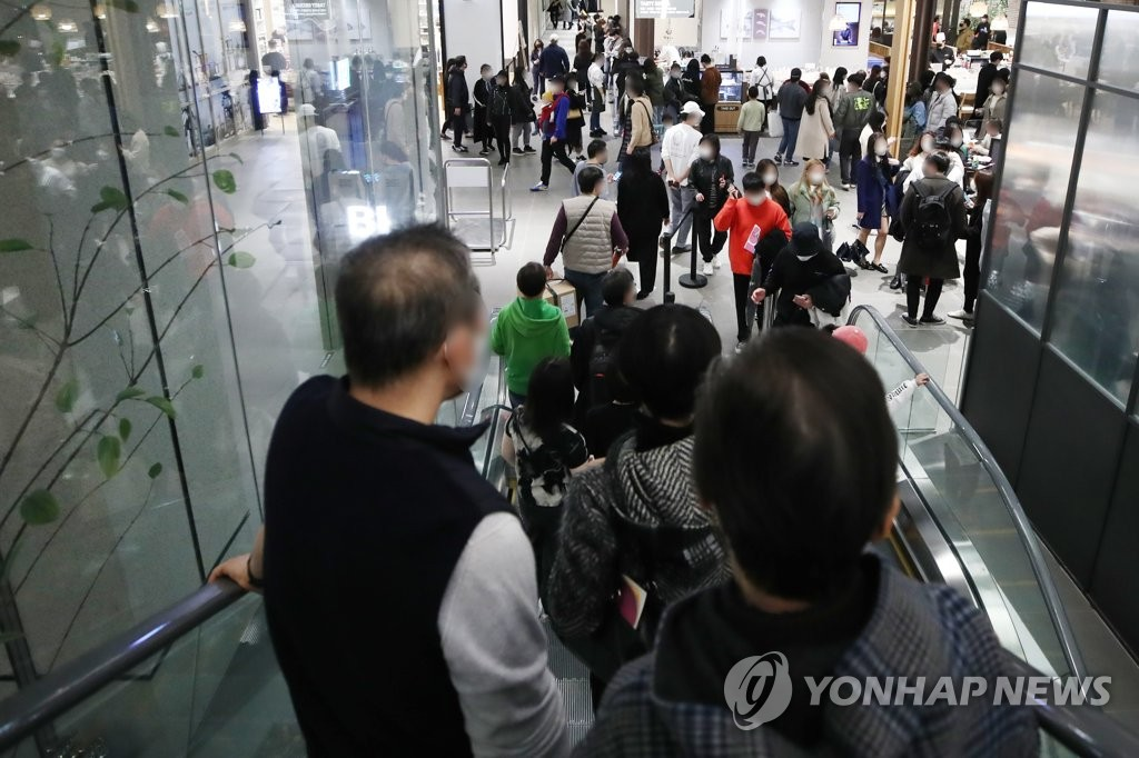 백화점에도 '봄바람'…주말 매출 50%대 증가