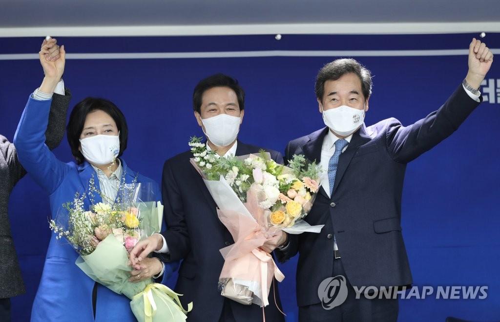 본선경쟁력이 갈랐다…박영선, 3수끝 서울시장 '본선티켓'