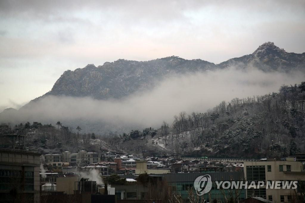 [내일날씨] 전국 흐림…강원 영동·경북 산지 눈·비