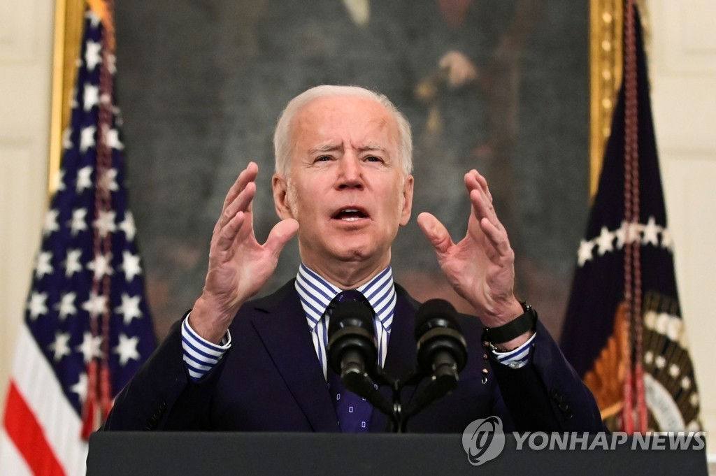 """바이든, 자신이 임명한 국방장관 이름 깜박?  """"전직 장군…"""""""