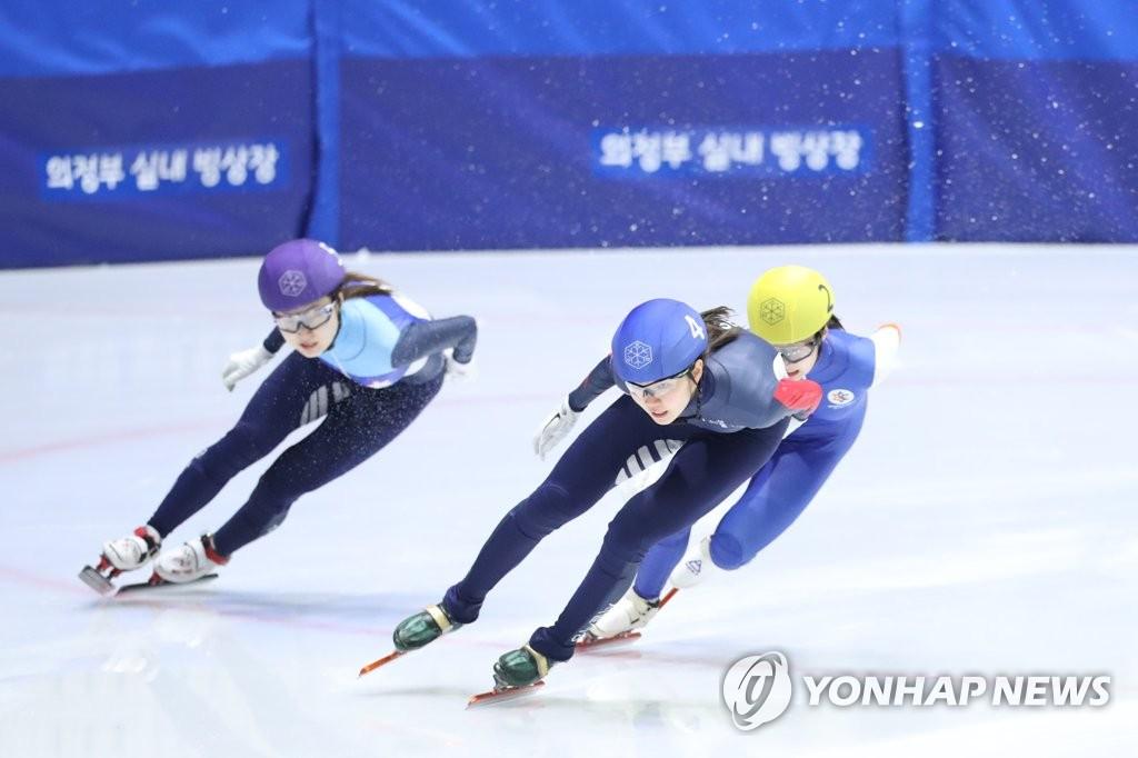 쇼트트랙 '간판' 심석희, 회장배 대회 2관왕…1,000m도 우승