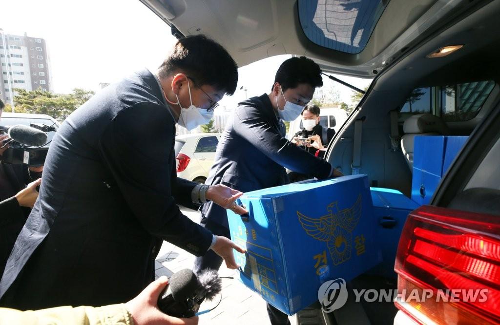 경찰, LH 전북본부 압수수색…서류·컴퓨터·휴대전화 확보(종합2보)