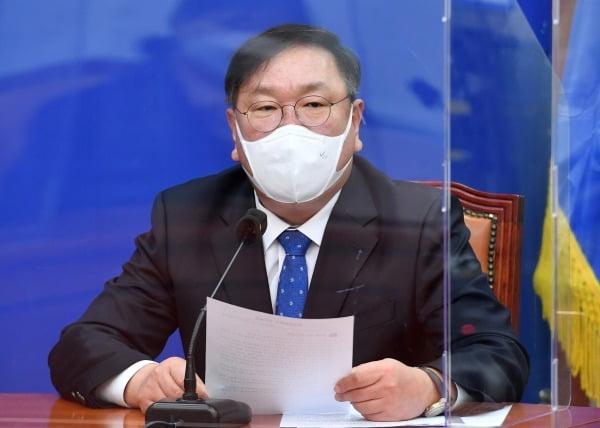 김태년 민주당 원내대표. 사진=연합뉴스