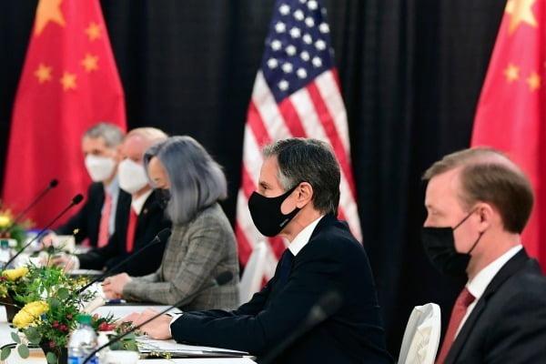 지난 18~19일 미국 알래스카에서 열린 미중 고위급 회담은 이견과 충돌 속에서 공동 성명도 발표하지 못한 채 종료됐다. AFP연합뉴스