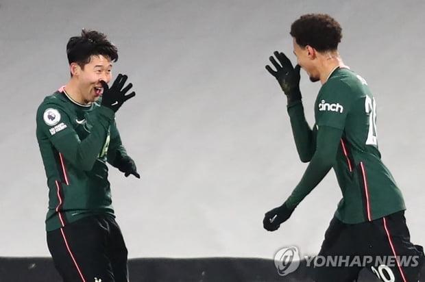 손흥 민 자살골 유도, 토트넘 풀럼 전 10 승… 리그 2 연패
