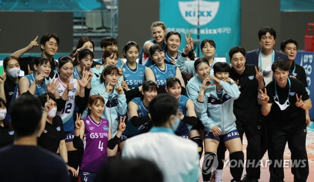 차상현 GS 코치 이소영 정규 리그 Rutsna Sohui 6R MVP