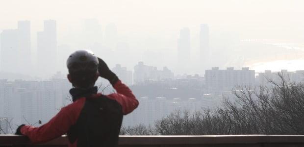 서울 중구 남산서울타워에서 바라본 서울시내 모습. 사진=뉴스1