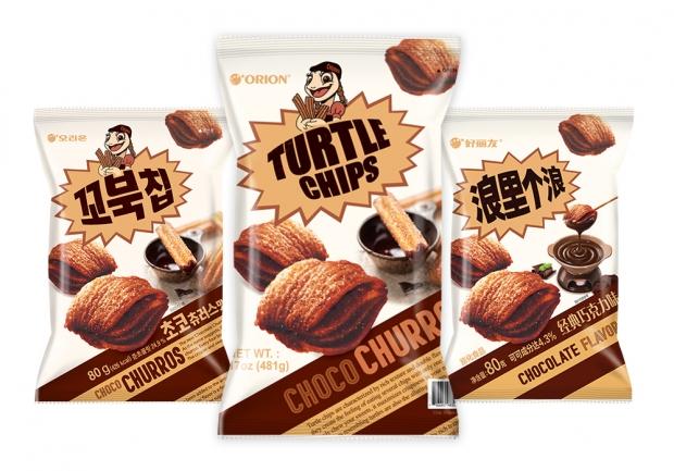 오리온 '꼬북칩 초코츄러스맛' 글로벌 판매 개시