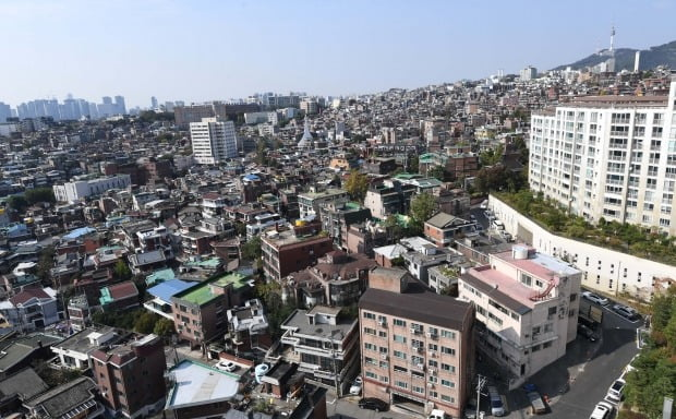서울시 용산구 한남 3구역 모습. / 자료=한경DB