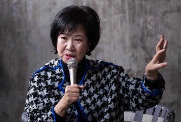 손혜원 전 열린민주당 의원이 더불어민주당 일부 중진을 비판했다. /사진=연합뉴스