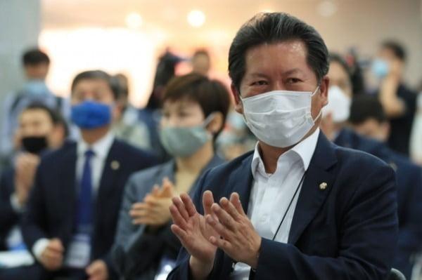 정청래 더불어민주당 의원. /사진=연합뉴스