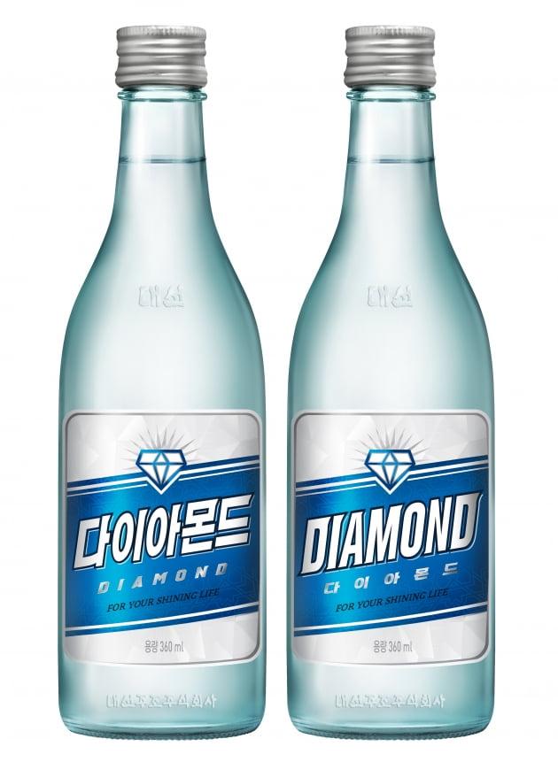 대선주조 신제품 '다이아몬드', 출시 5일 만에 45만병 판매