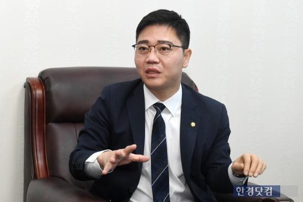 지성호 국민의힘 의원 /사진=최혁 한경닷컴 기자 chokob@hankyung.com