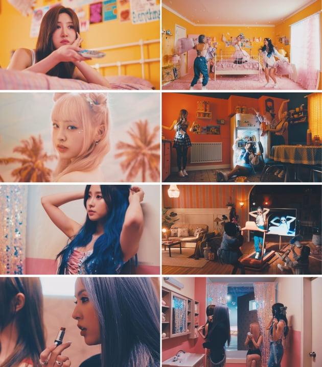 그룹 루나솔라 'DADADA' 뮤직비디오 티저 /사진=제이플래닛엔터테인먼트 제공
