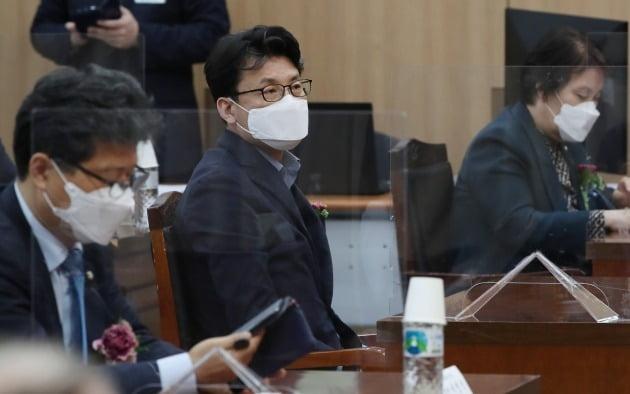 박영선 더불어민주당 서울시장 후보 캠프 전략기획본부장인 진성준 의원 [사진=뉴스1]