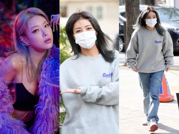 투표소 자체발광 미녀…알고보니 유빈