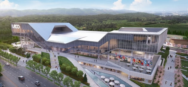 이달 개관하는 울산전시컨벤션센터(UECO) / 울산관광재단