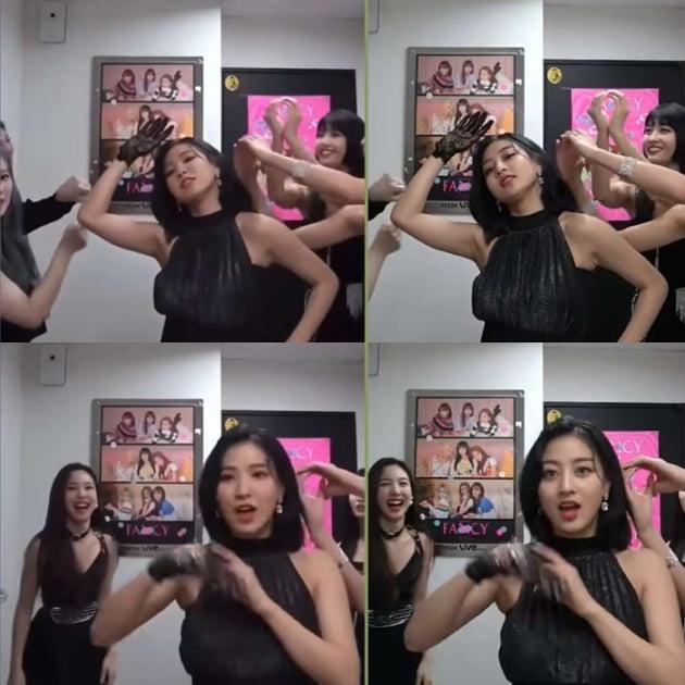 /사진='Twice Fancy - deepfake Blackpink & Red Velvet cameo. Can u spot the difference? ' 영상 캡처