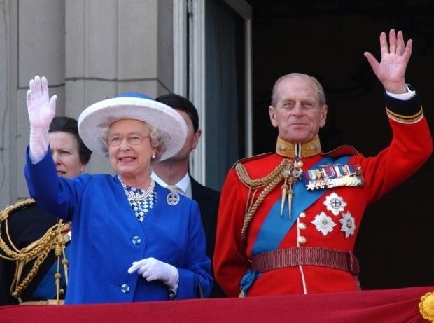 영국 엘리자베스 여왕 남편 필립공/사진=AFP