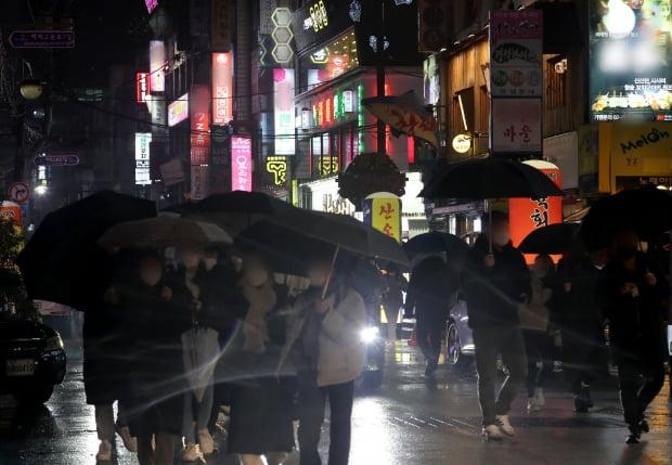 지난 1월 21일 서울 시내의 유흥주점 밀집지역의 모습. 사진=뉴스1
