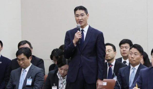 2019년 국감 출석한 존 리 구글코리아 사장 / 사진=연합뉴스