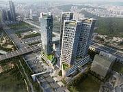 천안아산역 역세권 복합개발사업(안) 조감도