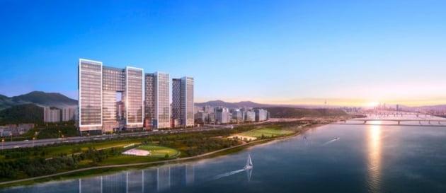 대형 지식산업센터와 오피스텔의 콜라보레이션, 현대건설 '지엘메트로시티 한강'