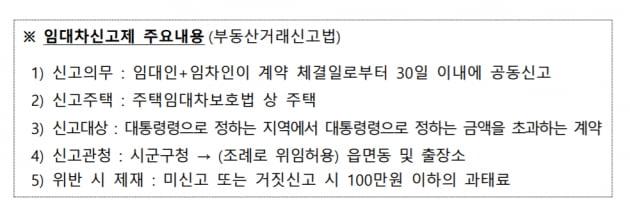 6월부터 '전세 6000만원·월세 30만원' 넘으면 신고…'임대차3법' 완성