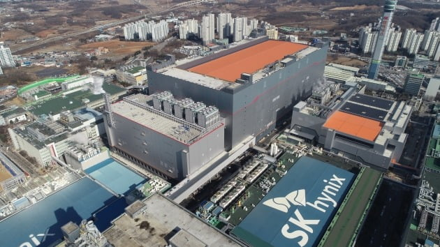 SK하이닉스 경기 이천 M16 공장 전경. 2021.2.1 [사진=SK하이닉스 제공]