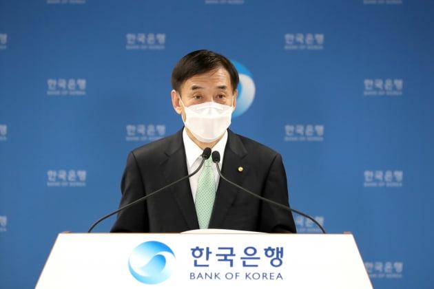 이주열 한국은행 총재가 15일 오전 서울 중구 한국은행에서 열린 통화정책방향 기자간담회에서 발언하고 있다. (사진 = 한국은행)