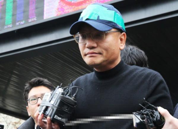 대법원 1부(주심 이흥구 대법관)는 15일 양진호 전 한국미래기술 회장에게 징역 5년을 선고한 원심을 확정했다. 사진은 양씨의 모습 /사진=연합뉴스
